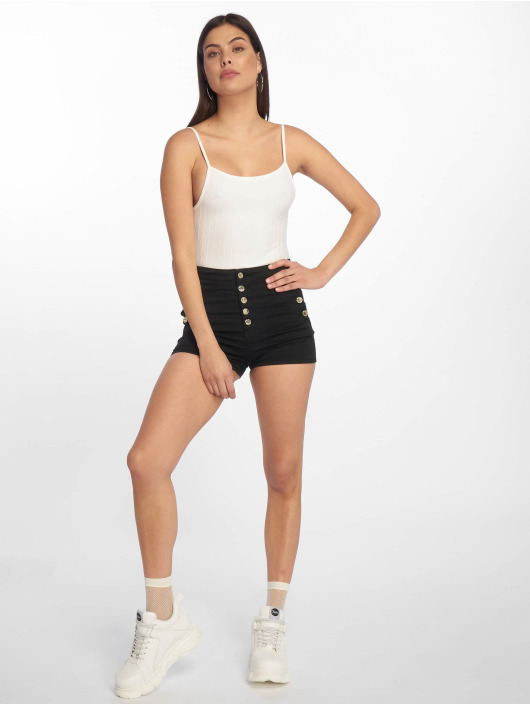 Tally Weijl Shorts High Waist nero