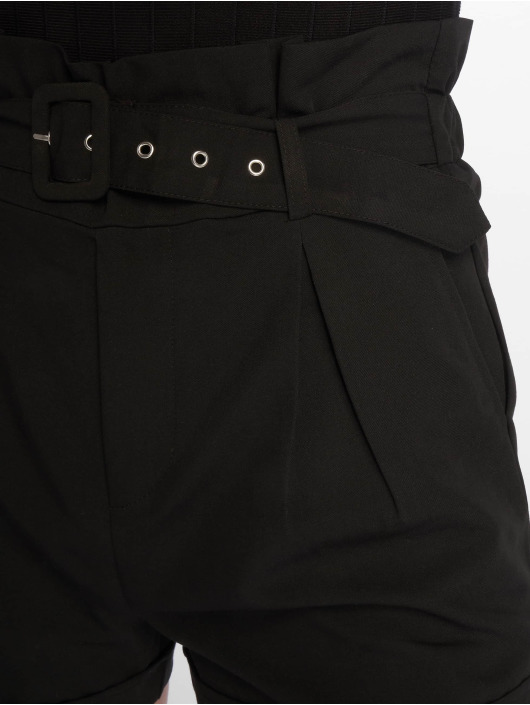 Tally Weijl Shorts Buckle nero