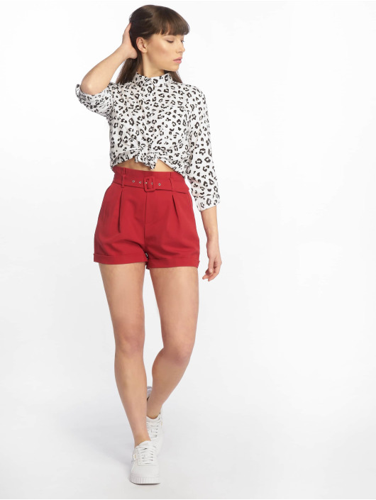 Tally Weijl Shorts Buckle red