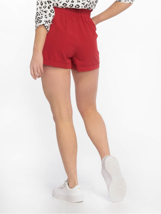 Tally Weijl Shortsit Buckle punainen