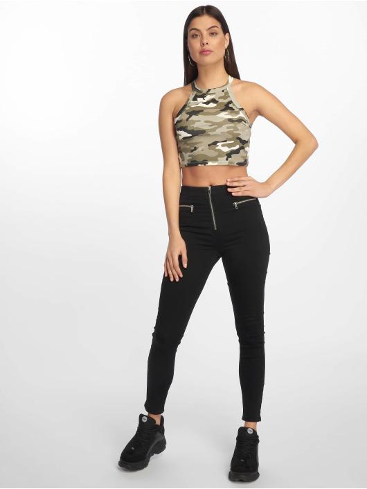 Tally Weijl Skinny Jeans Zipped black