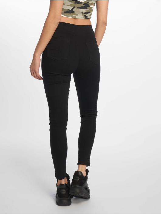 Tally Weijl Skinny Jeans Zipped czarny