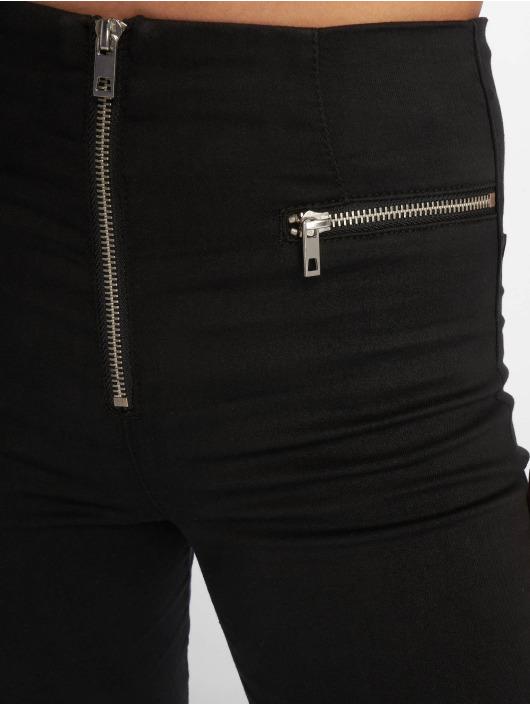 Tally Weijl Skinny Jeans Zipped schwarz