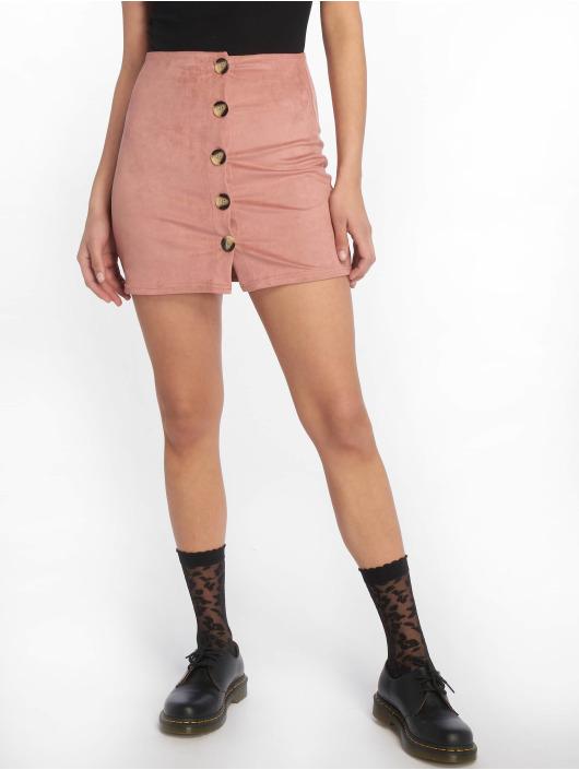 Tally Weijl Skirt Suede rose