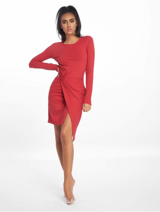Tally Weijl Sukienki Rib czerwony