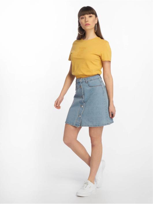 Tally Weijl T-shirt Knitted gul