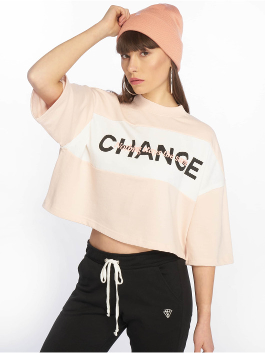 Tally Weijl T-shirt Knit rosa