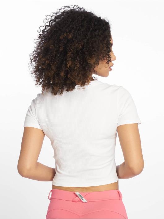 Tally Weijl T-Shirt Basic weiß