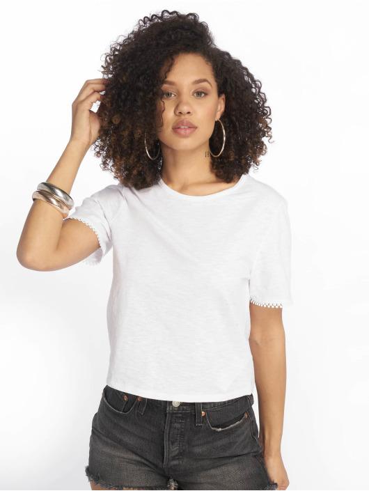 Tally Weijl T-Shirt Back Laced weiß