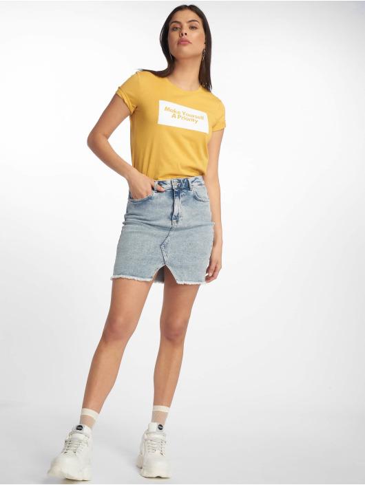 Tally Weijl T-Shirt Knitted yellow