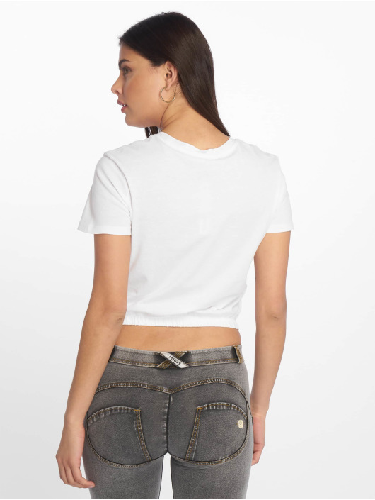 Tally Weijl T-Shirty Knitted bialy