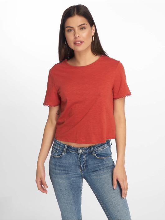Tally Weijl T-Shirty Back Laced czerwony
