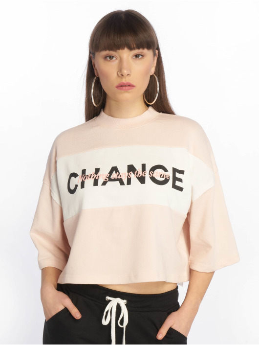 Tally Weijl T-Shirty Knit pink