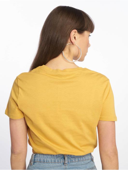 Tally Weijl T-skjorter Knitted gul