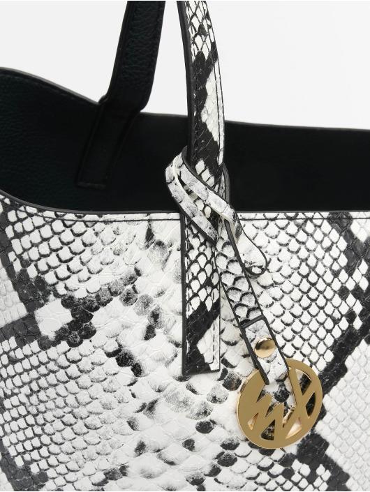 Tally Weijl Taske/Sportstaske Revisible Snake hvid
