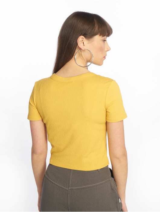 Tally Weijl Top Basic Knitted amarillo