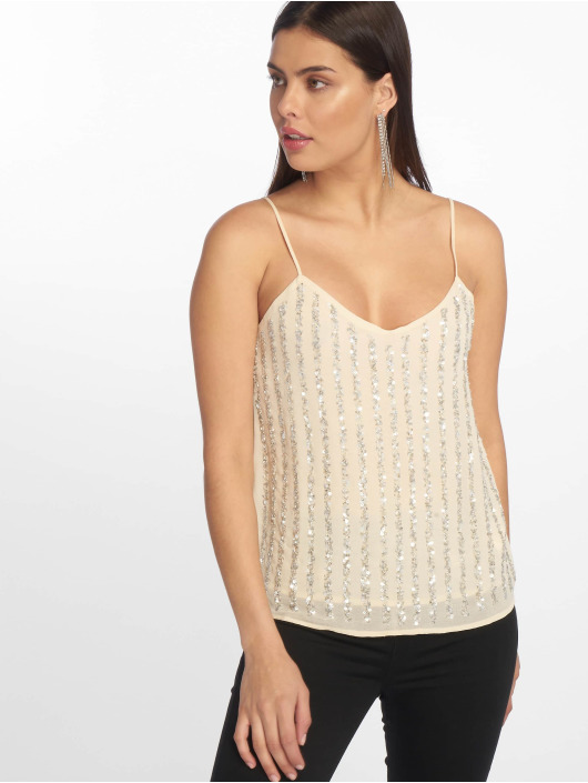 Tally Weijl Bead Top Off White