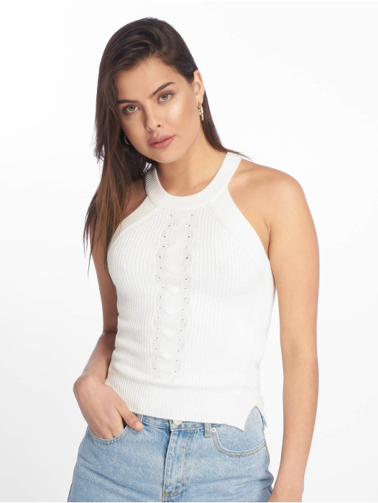 Tally Weijl Top Knit Pullover blanco