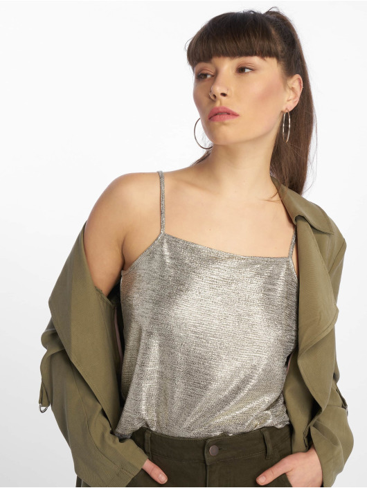 Tally Weijl Top Metallic gold colored