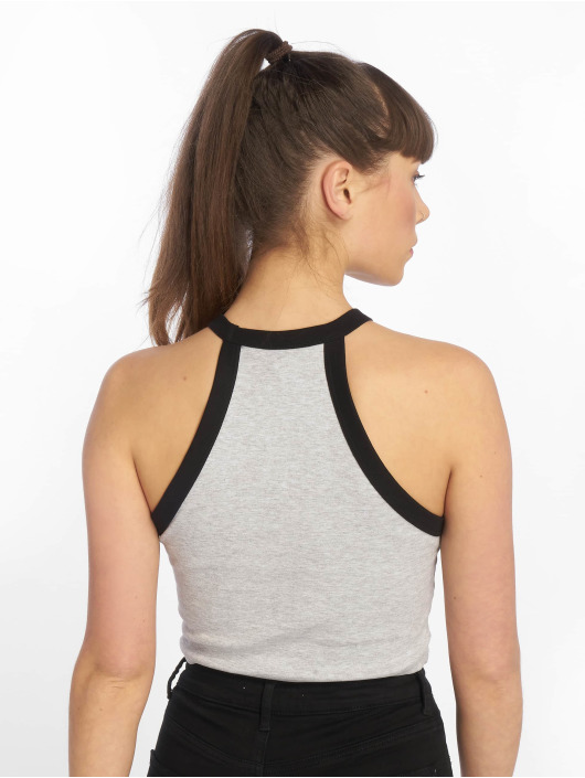 Tally Weijl Top Basic Knitted grey