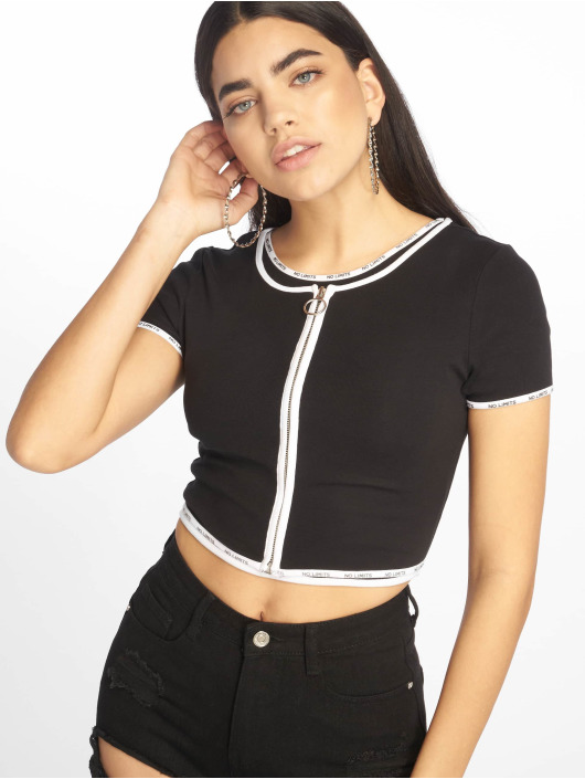 Tally Weijl Top 2 In 1 Top schwarz