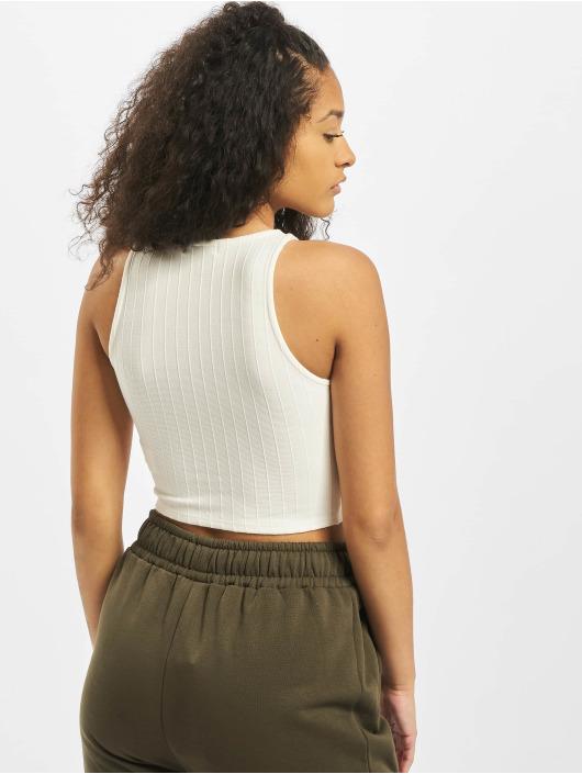 Tally Weijl Top Basic Knitted weiß