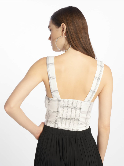 Tally Weijl Top Check white