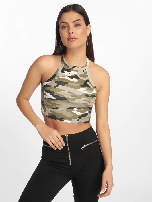 Tally Weijl Tops Basic Knitted moro