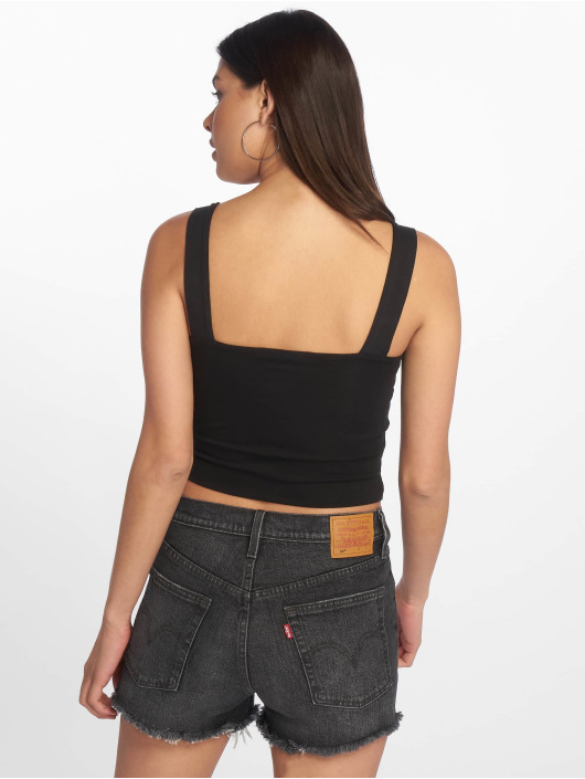 Tally Weijl Tops Basic Knitted nero