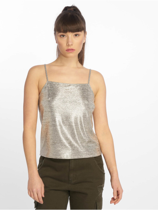 Tally Weijl Tops Metallic oro