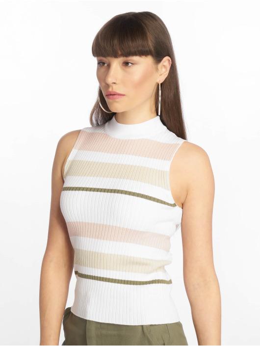 Tally Weijl Topy Knit Pullover bílý