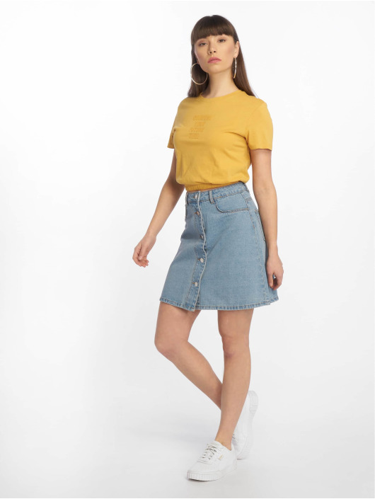 Tally Weijl Trika Knitted žlutý
