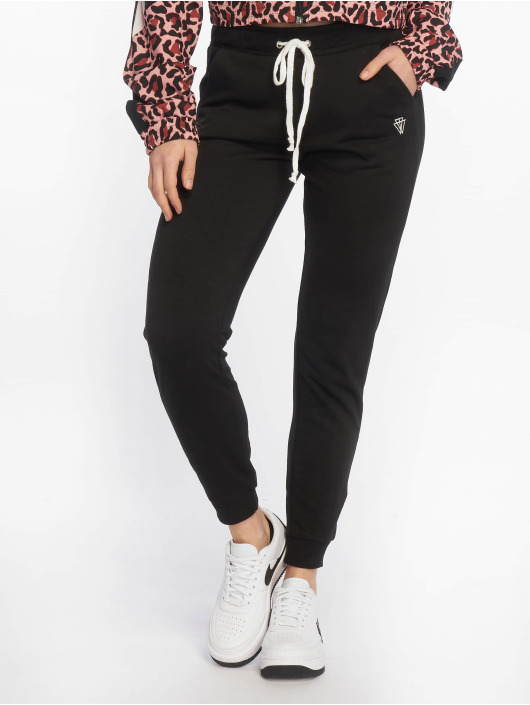 Tally Weijl Verryttelyhousut Basic Sweat musta