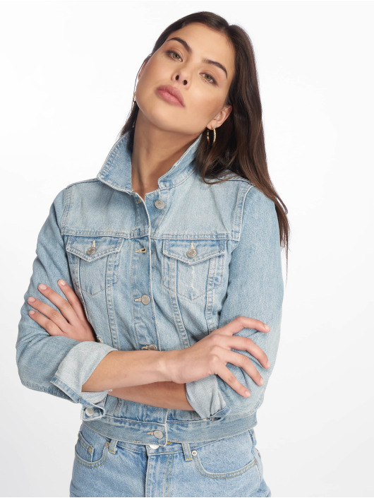 Tally Weijl Veste Jean Denim bleu