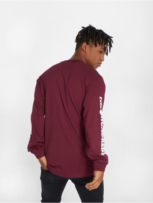 The Hundreds Longsleeve Forever Solid Cest red