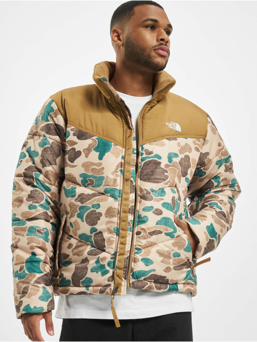 The North Face Демисезонная куртка Face M Saikuru коричневый