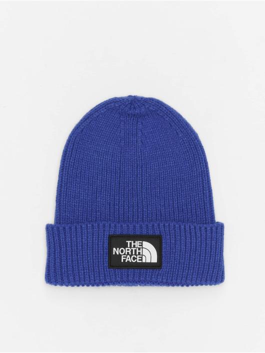 The North Face Beanie Logo Box Cuf blau