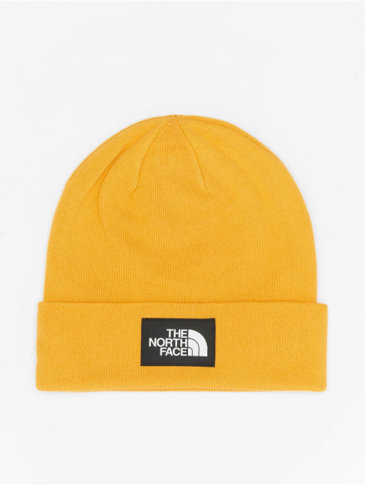 The North Face Beanie Face Dock Worker Recycled geel