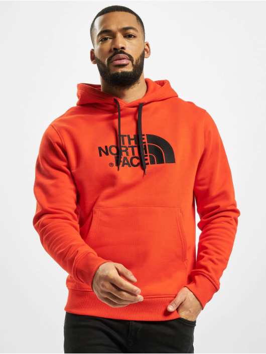 The North Face Bluzy z kapturem Drew Peak Plv czerwony