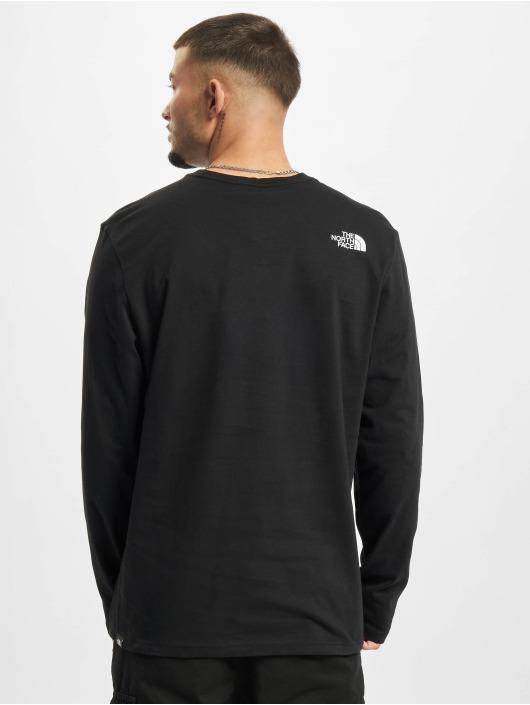 The North Face Camiseta de manga larga Fine negro