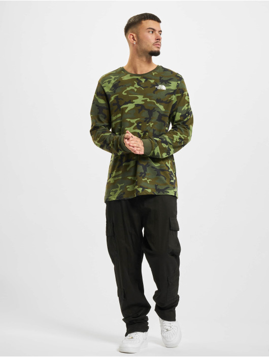 The North Face Langærmede Simple Dome camouflage