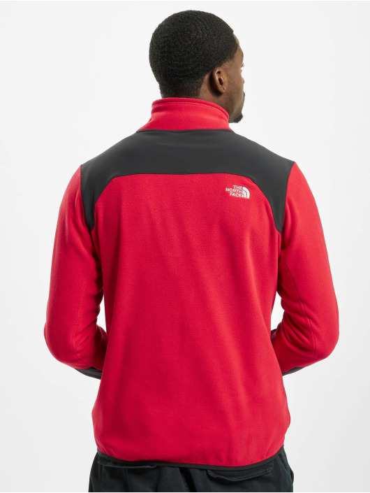 The North Face Lightweight Jacket Glacier Pro Full Zip red