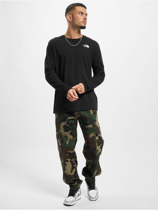 The North Face Longsleeve Red Box schwarz