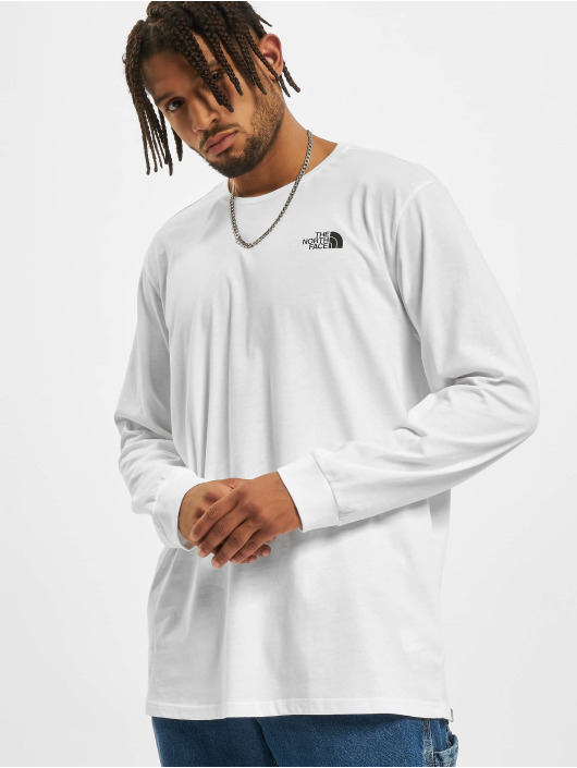 The North Face Longsleeve Simple Dome white