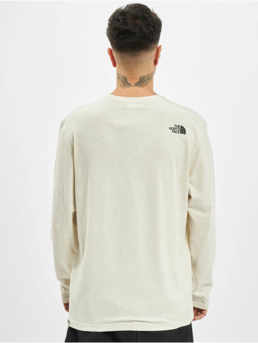 The North Face Longsleeve Tissaack wit