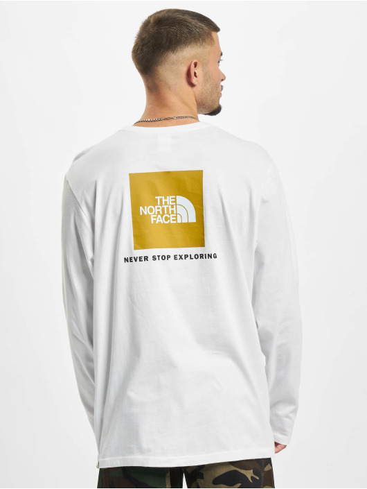 The North Face Longsleeve Face Red Box wit