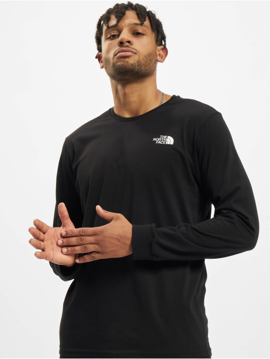 The North Face Longsleeve Simple Dome zwart