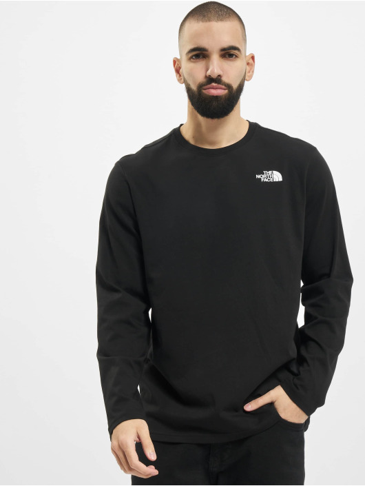 The North Face Longsleeves Red Box czarny