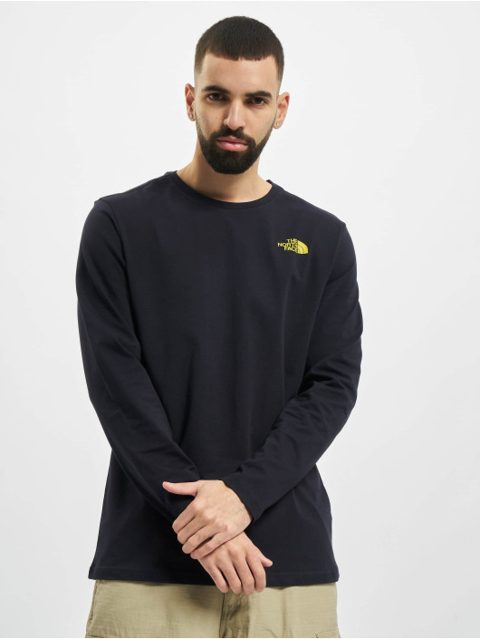 The North Face Longsleeves Face Easy modrý