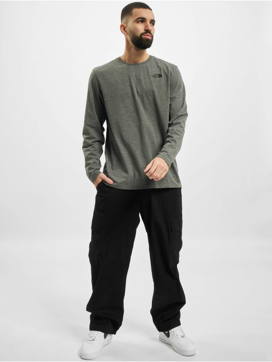 The North Face Longsleeves Easy szary